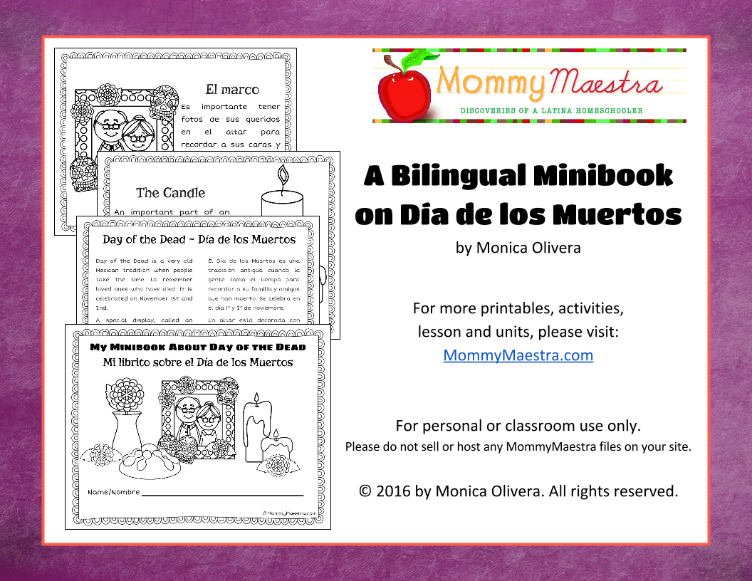 mommy maestra 7 dia de los muertos activities for kids