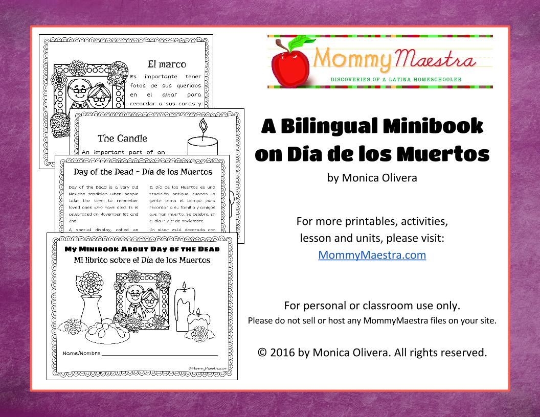 Mommy Maestra 7 Dia De Los Muertos Activities For Kids