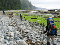 How to Put Up a Dry Tent on the West Coast Trail