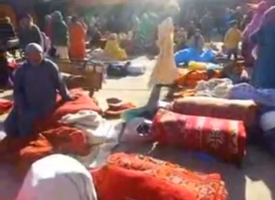 Moroccan khenifra rugs