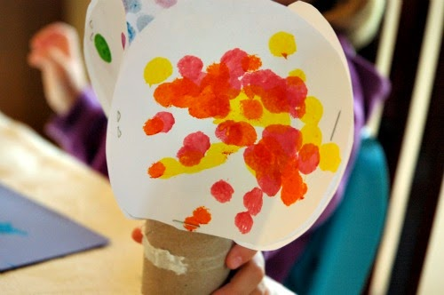 Four Seasons Tree Craft for Kids