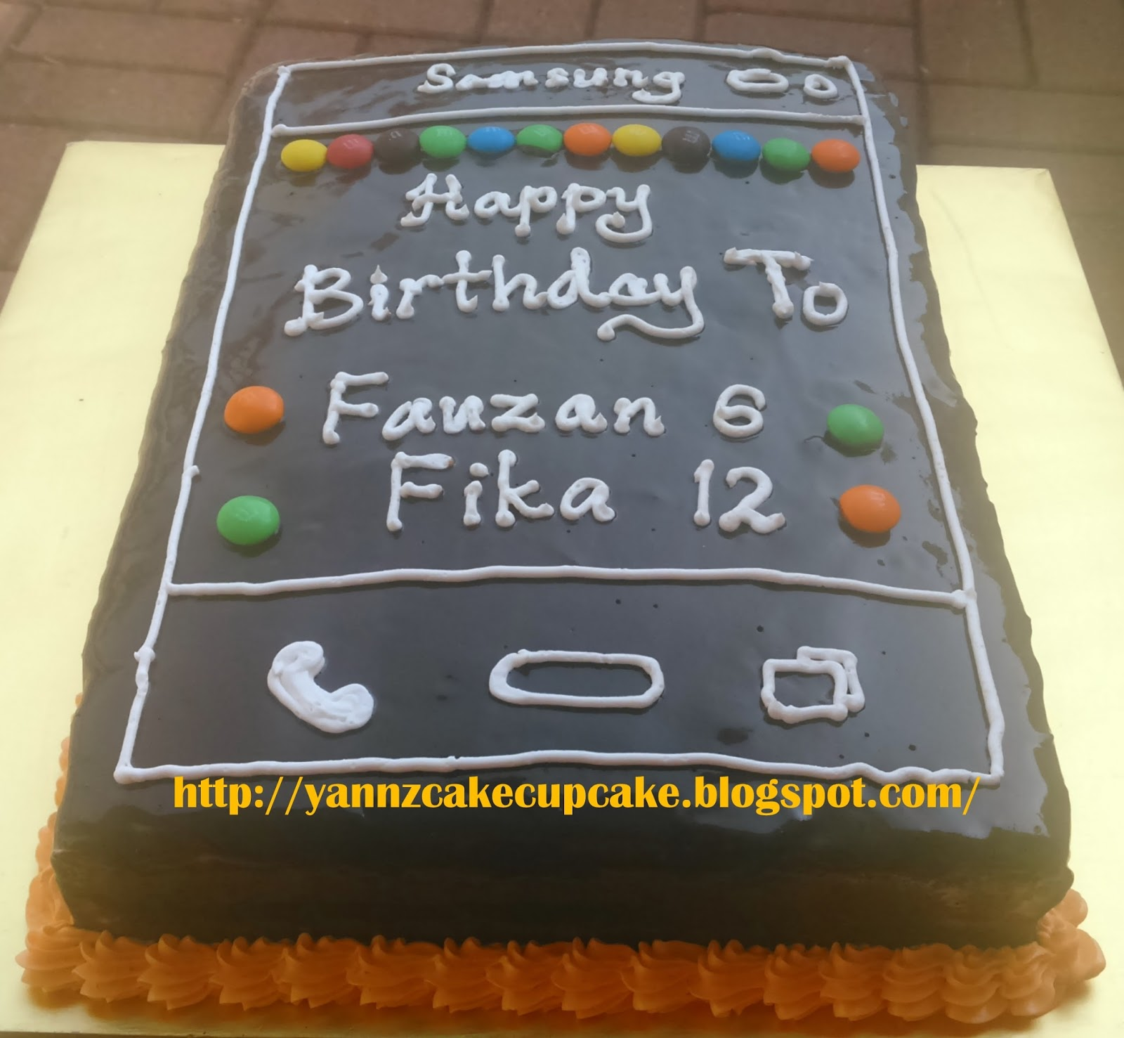 Cake Cupcake By Yannz Samsung Handphone Cake