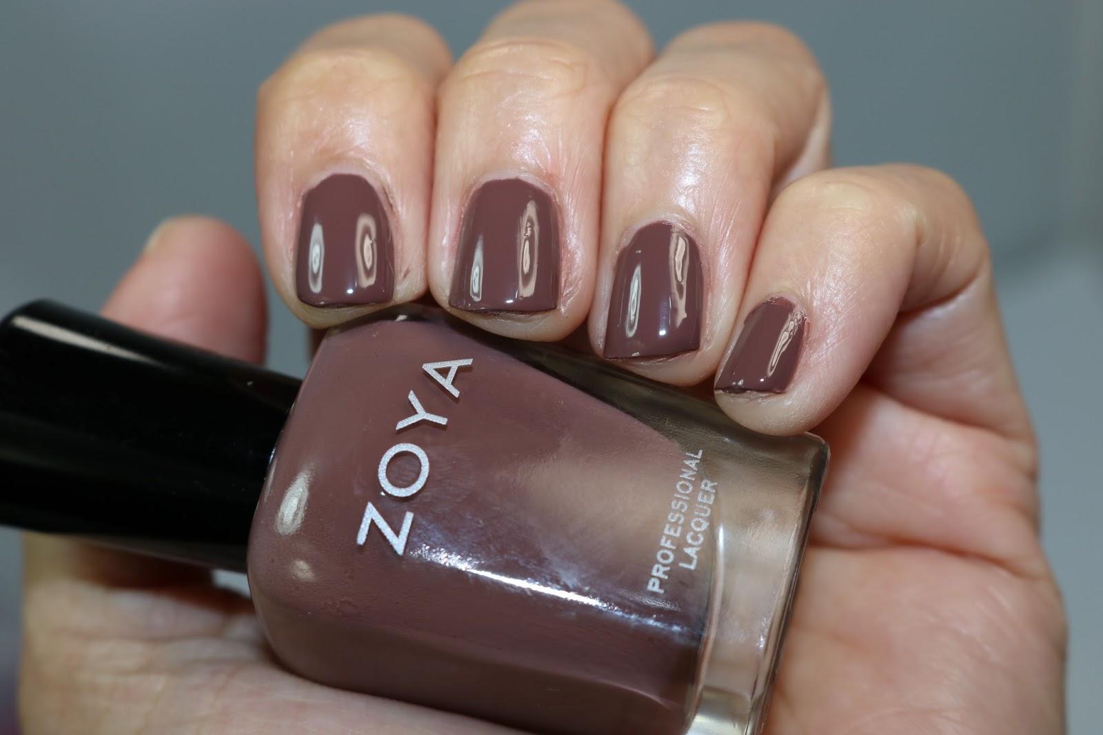 Zoya Nail Polish Naturel 3 Collection Swatches, Review - The Shades Of U