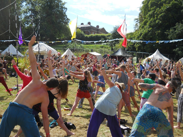 Shambala Meadow yoga