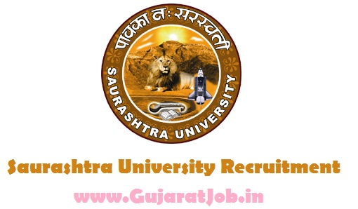 Saurashtra University Recruitment for Various Posts 2017