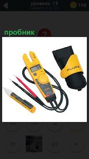 Специальный прибор пробник для измерения напряжения