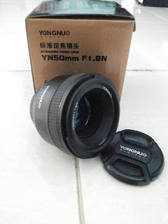 Jual Lensa YONGNUO 50mm F1.8 For NIKON