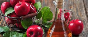 Vinagre de maçã reconstrução ácida