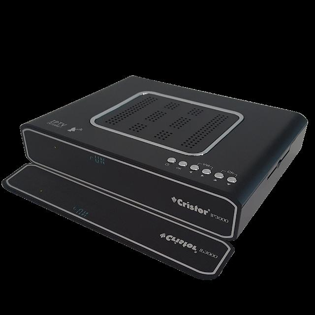 الجهاز الجديد كريستور cristor ip3000 و التحديث الجديد