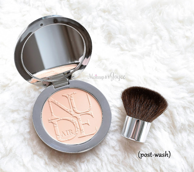 Dior Nude Mini Kabuki Travel Brush Pressed Powder Review