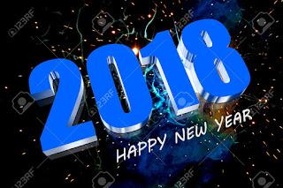 Happy New Year 2018 Screensaver