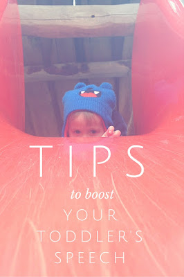 Tips to boost your toddler's speech