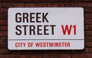 Greek Street London UK