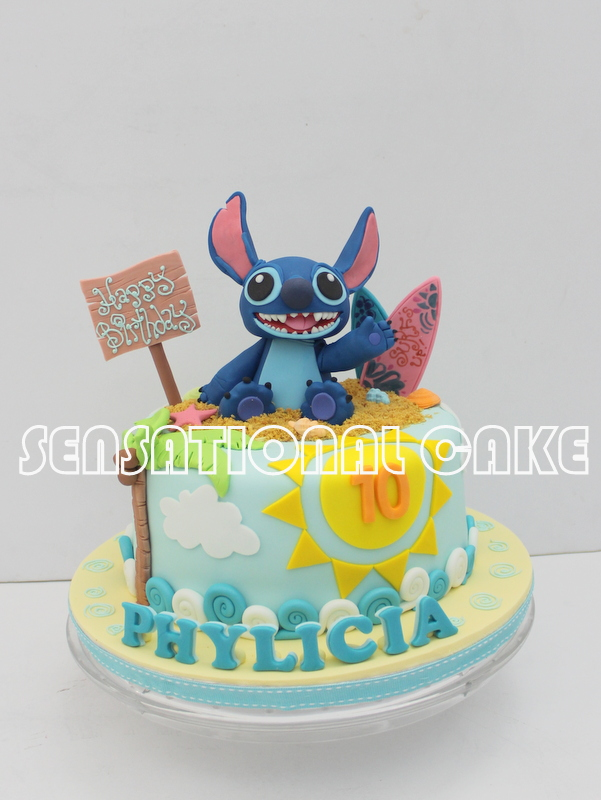 Stitch Birthday Cake Singapore Cake Recipe