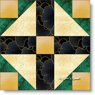 Grandmother's Choice quilt block image © Wendy Russell