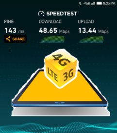MTN-4G-Speed-test
