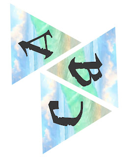 Moana alphabet banner