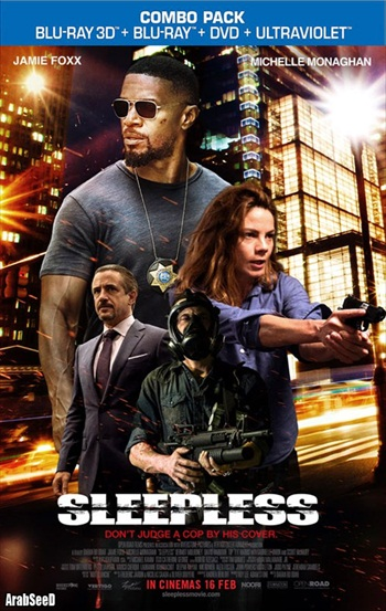 Sleepless 2017 English 720p BRRip 850MB ESubs