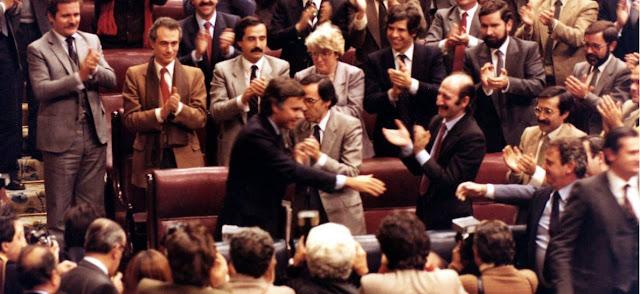 Felipe Gonzalez y la investidura del Presidente del Gobierno