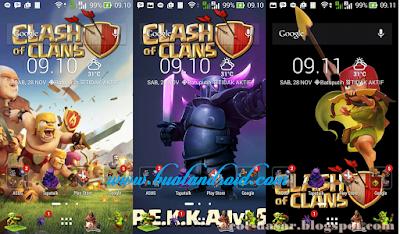 Download Tema Clash of Clans Terbaru Untuk Asus Zenfone 5