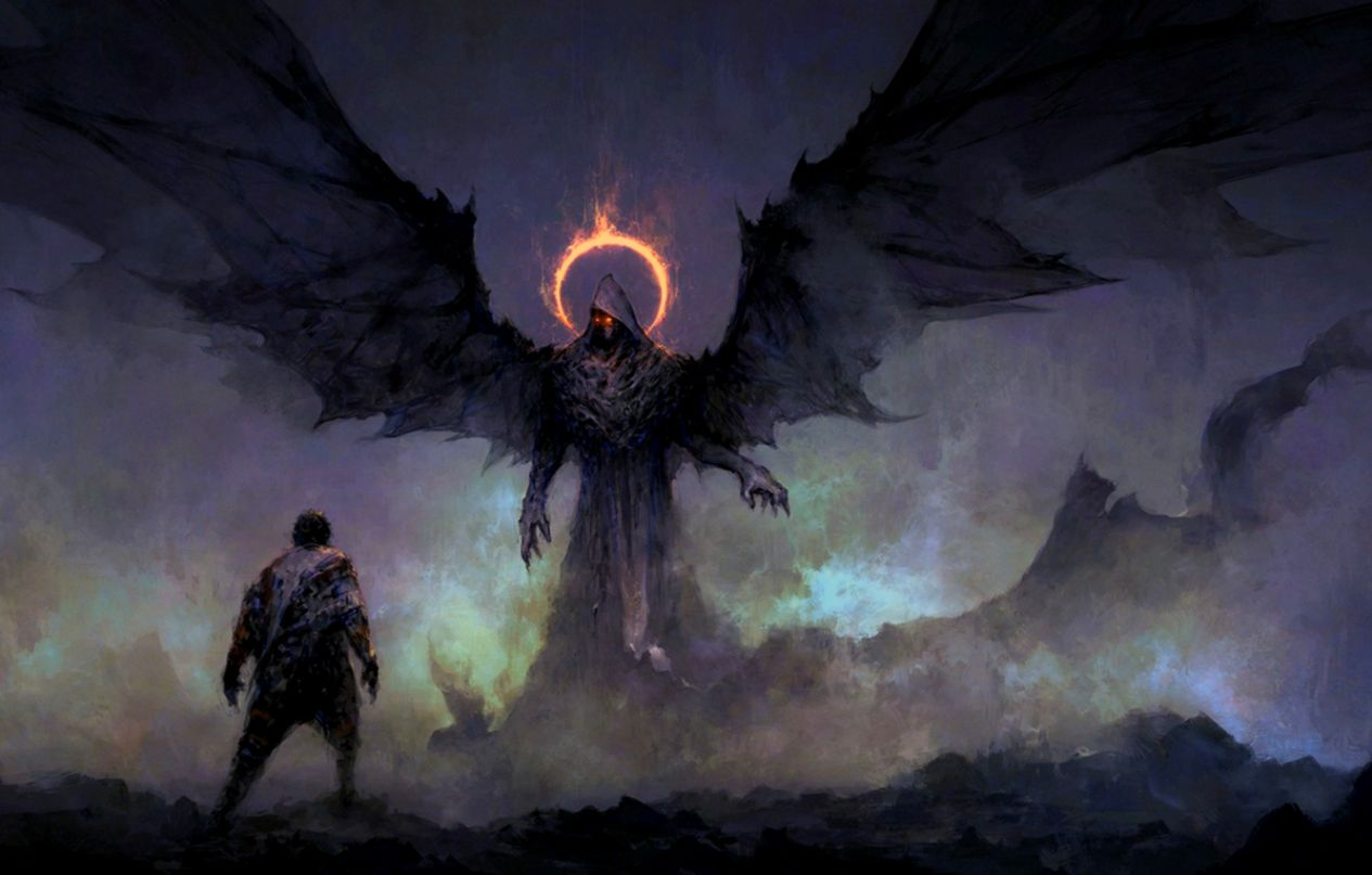 Dark Fantasy Art Wallpaper Wallpapers Themes