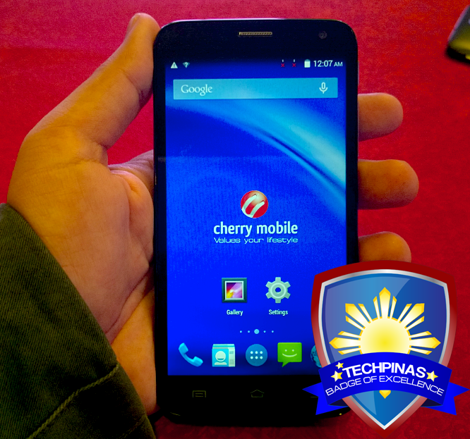 Cherry Mobile Flare 3, TechPinas Badge of Excellence