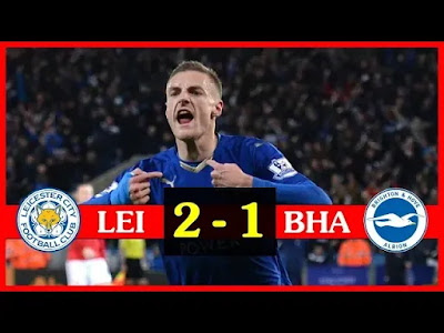 Leicester City vs Brighton 2-1 Football Highlights and Goals 2019