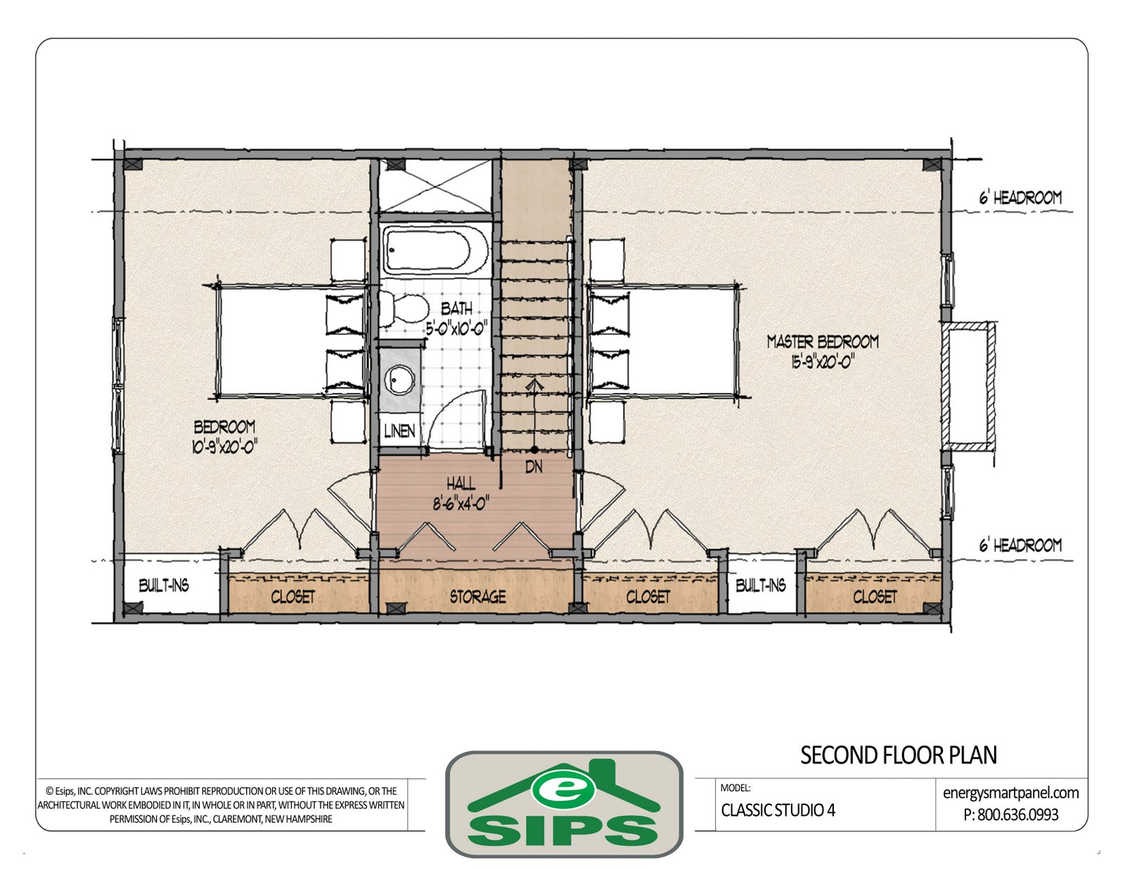 2 Bedroom Guest House Plans