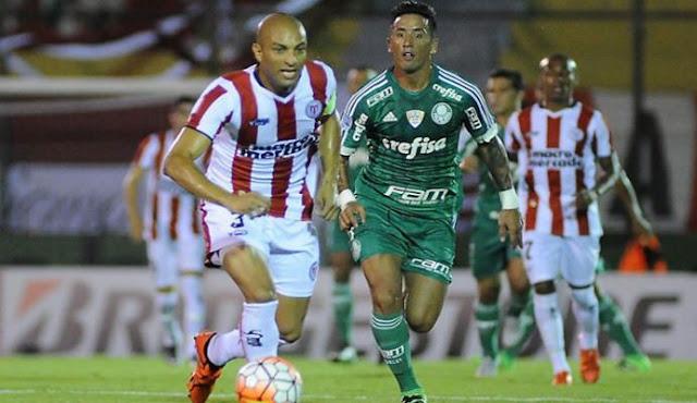 Palmeiras vs River de Uruguay en vivo