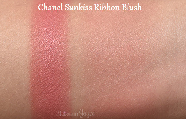 Chanel Sunkiss Ribbon Blush Harmony Swatch