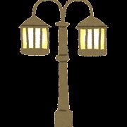 街灯・電灯のイラスト(照明)