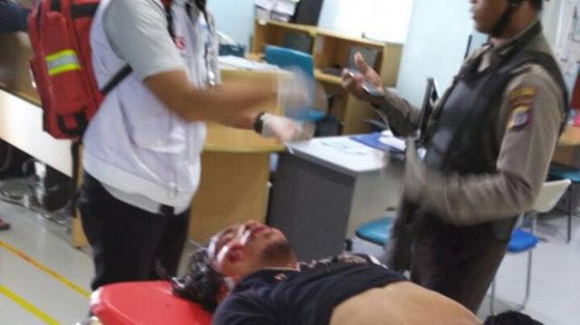 Pria ngamuk di gereja St Lidwina ditembak petugas. Pelaku dirawat di Rumah Sakit UGM dan akan dibawa ke RS Bhayangkara