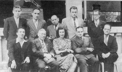 Participantes en el Campeonato de Ajedrez de Francia 1949