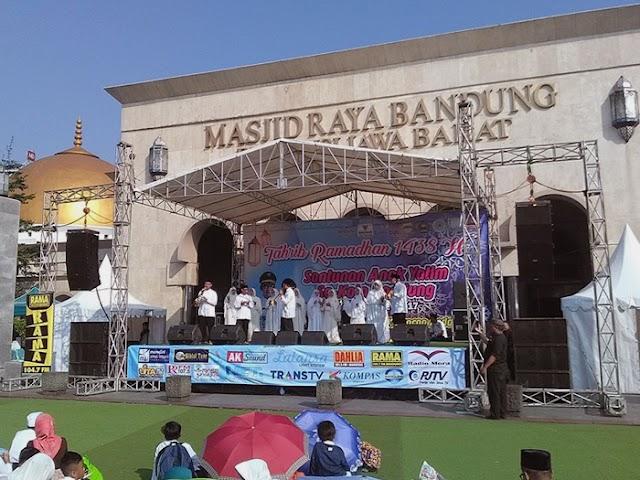 Oded M Danial Hadiri Tarhib Ramadhan di Masjid Raya Bandung