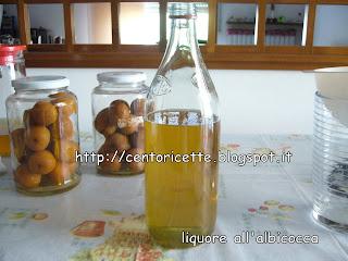 Liquore alle albicocche