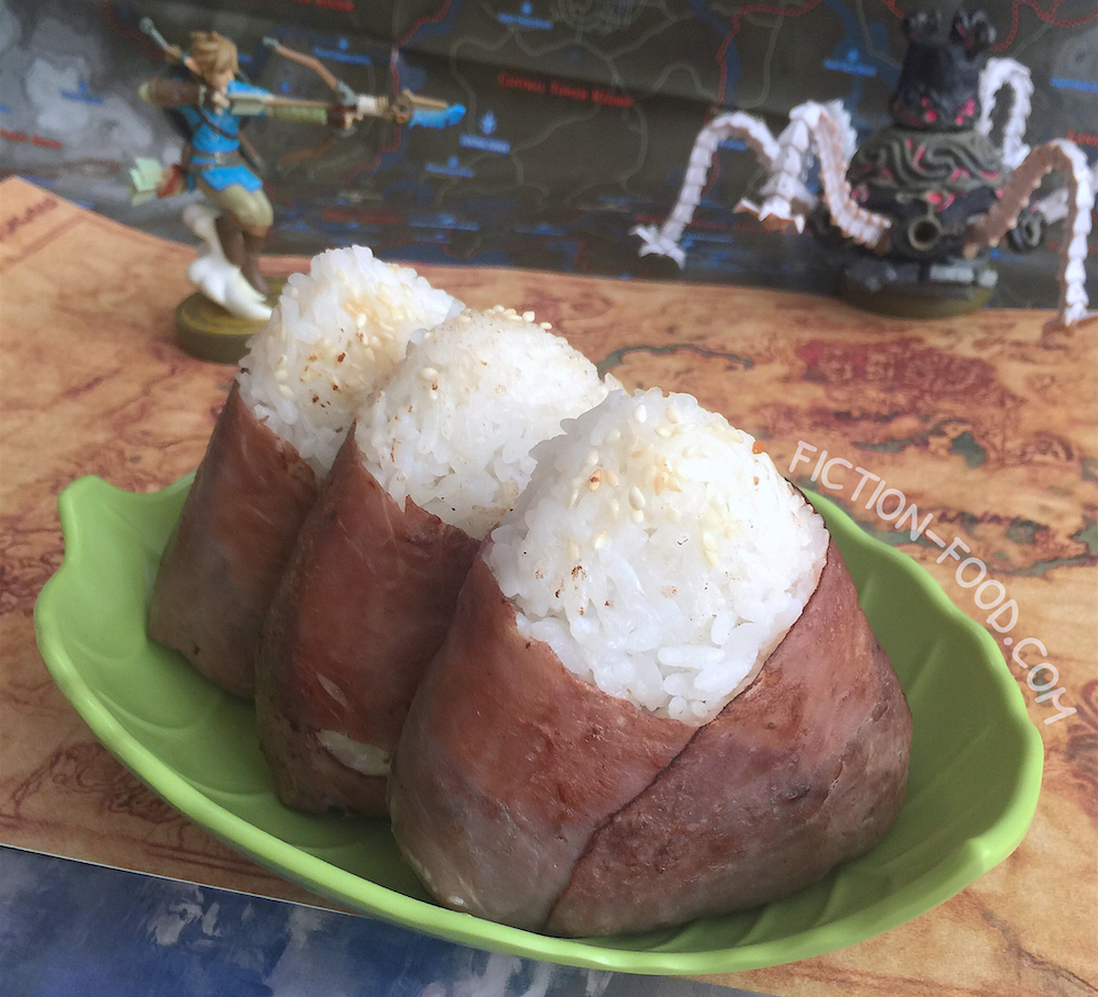 Fiction Food Café Meaty Rice Balls Legend Of Zelda Breath Of The