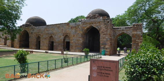 Khilji's-Tomb-And-Madarsa