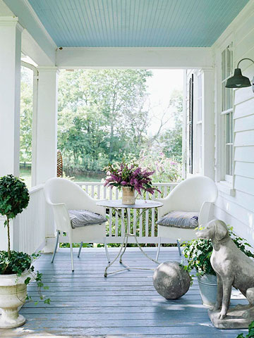 Refresheddesigns Green Idea Refresh A Porch With Paint