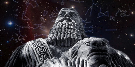 Gilgamesh, having defeated Humbaba, aspires to godlike immortality