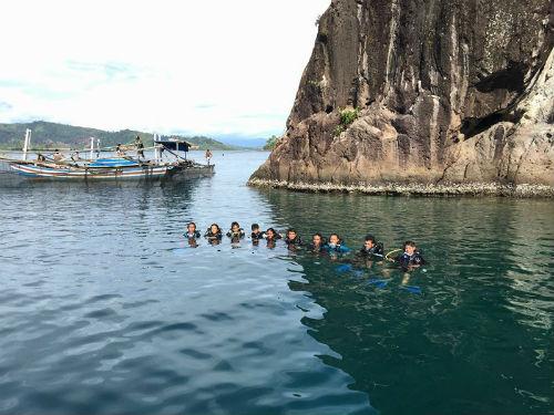 Laut yang indak kawasan wisata mandeh