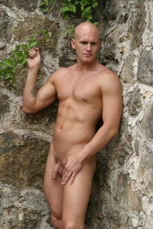 Sexy bald guys naked