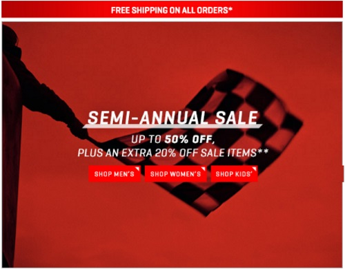 PUMA Semi Annual Sale Up To 50% Off + Extra 20% Off Sale Items