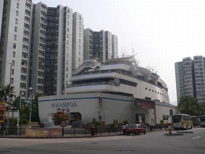 Restaurante en barco