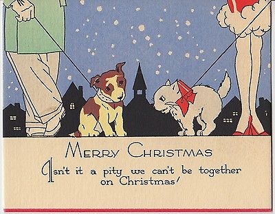 Bloody Pit Of Rod Art Deco Christmas Cards