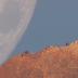 Um vídeo mostra a lua descendo até a terra