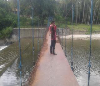 Wisata jembatan gantung, Bendungan Balebo Masamba, Luwu Utara