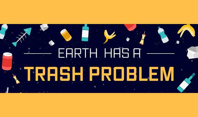 Earth Has a Trash Problem