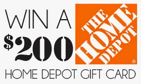 Enter to Win a $200 Home Depot Gift Card