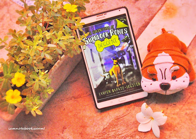 The Adventures of Sherlock Bones: Doggone by Lauren Baratz-Logsted | Blog Tour and Giveaway | Book Review by iamnotabookworm