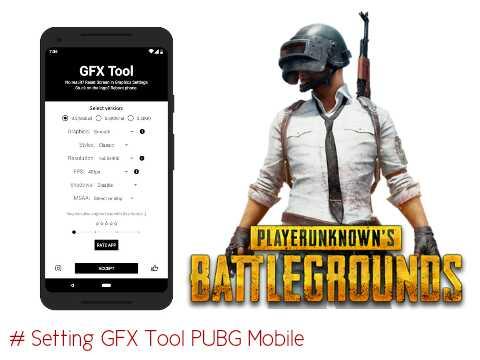Cara setting gfx tool pubg mobile